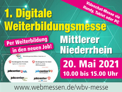 1. Digitale Weiterbildungsmesse Mittlerer Niederrhein