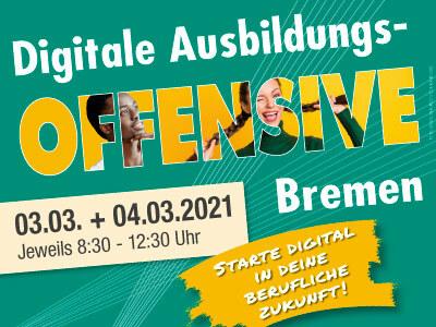 Digitale Ausbildungsoffensive 2021 Bremen