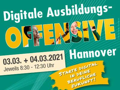 Digitale Ausbildungsoffensive 2021 Hannover