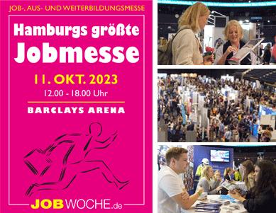 Hamburgs größte Job- & Weiterbildungsmesse