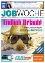 JOBWOCHE, aktuelle Ausgabe